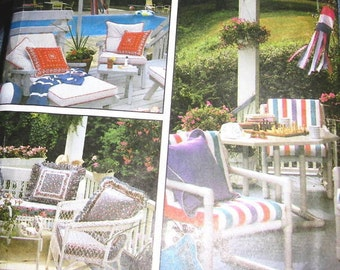 patio / porch furniture Outdoor garden Covers Pillows Sewing patterns