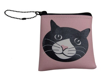 Little Packrats CHLOE the CAT Change Purse