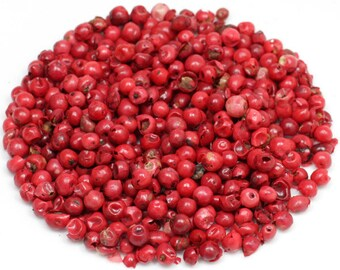Peppercorns, Pink, Whole (Organic)