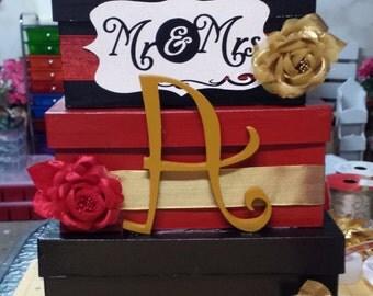 Wedding card box holder
