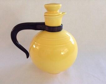 Vintage, Lemon Yellow Teapot
