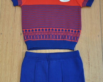 Brand new with tags amazing 70's boys soldier top/shorts set