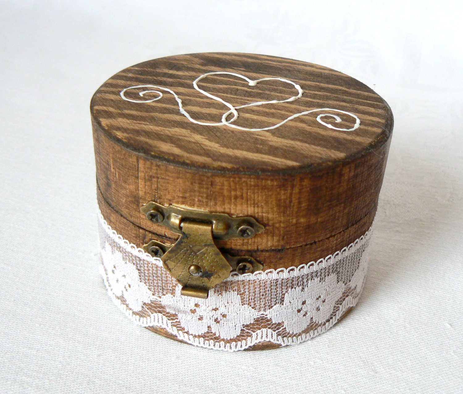 Wedding ring box engagement ring holder wood ring box ring for Wedding ring holder box