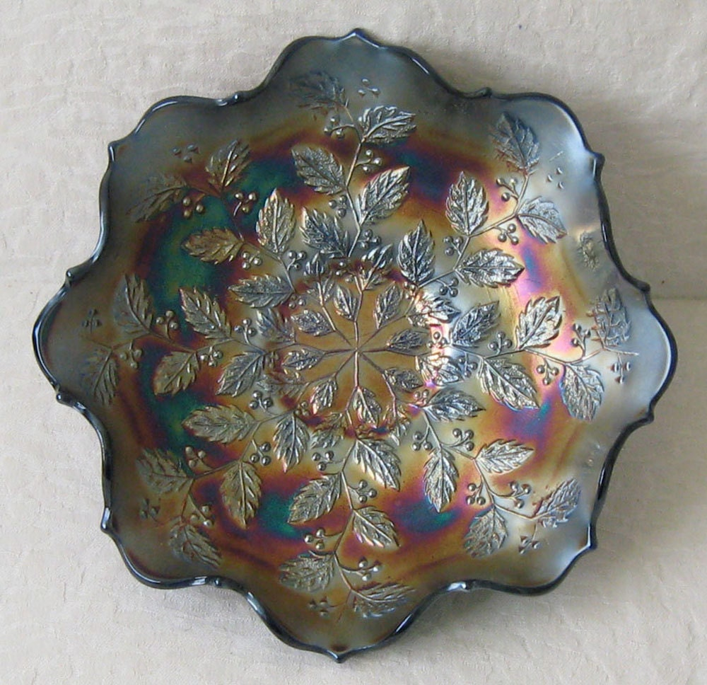 Carnival Glass Patterns Lookup Beforebuying