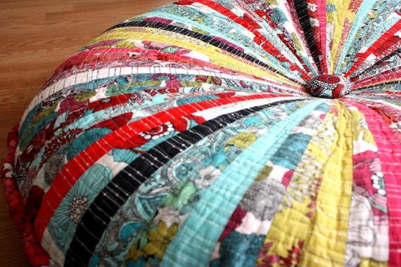 Washable 40 Enormous Pouf Giant Floor Cushion 102 cm