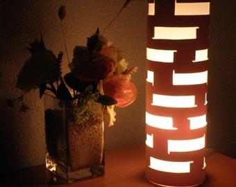 Clearance* MODERN DESK LAMP Lighting Art lamp Geometric lamp Handmade by GlowingArt