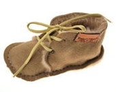 Baby Desert Booties Sand Shearling size 02