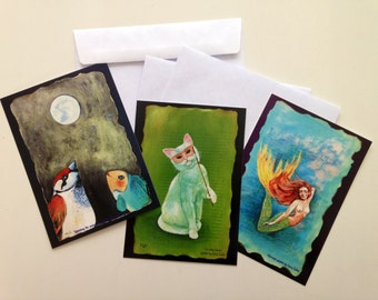 Fairy tailor Art postcards