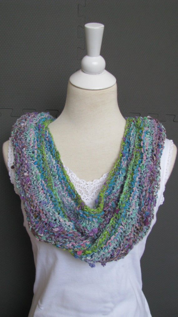 Noro Knitting Patterns : Instant Download Knitting Pattern Knitted Scarf Noro Yarn