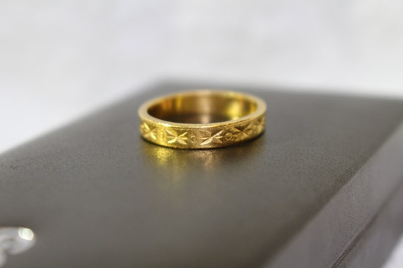 24 carat gold jewelry stunning gold ring 24 carat beautifully made vintage 6695