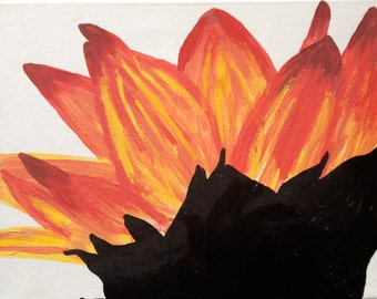 ORIGINAL Painting - Sunflower