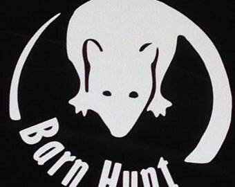Barn Hunt rat decal