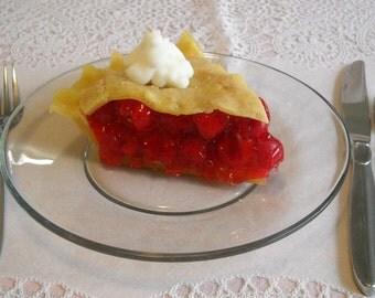 Cherry Pie Slice Candle ©