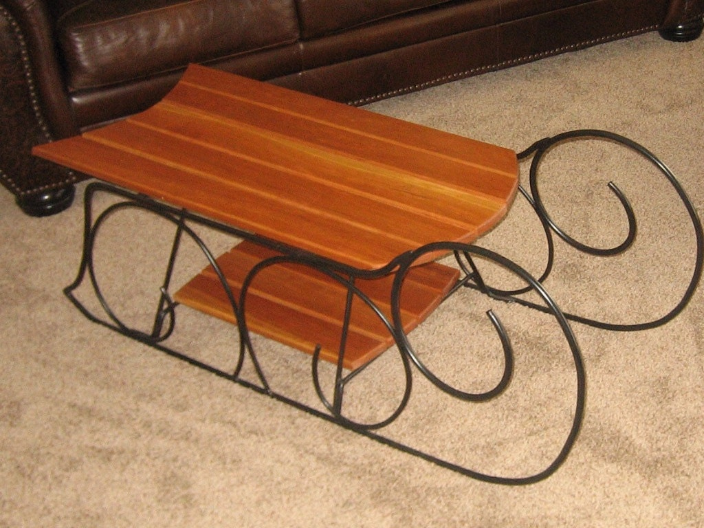 Request a custom order and have something made just for you for Sled coffee table