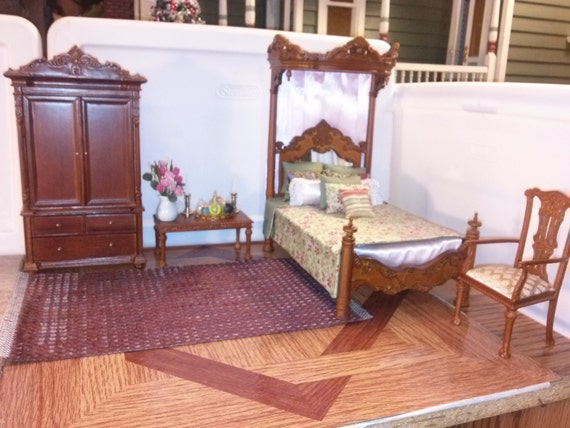 High quality dollhouse furniture bedroom set by for High quality bedroom furniture