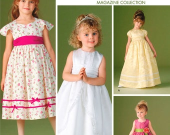 Child Special Occasion Dresses Simplicity Pattern 4647