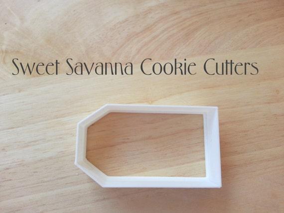 tea bag cookie cutter by sweetsavannacookies on etsy
