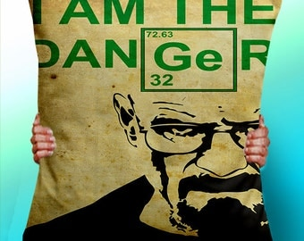 Breaking Bad Walter White I am the Danger  - Cushion / Pillow Cover / Panel / Fabric