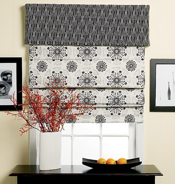 Butterick Pattern B5730 Window Shade And Valance From