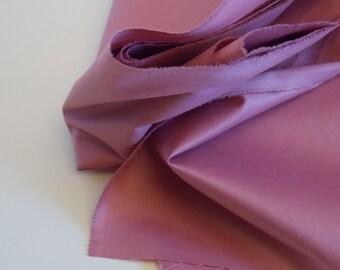 Rose or Mauve Cotton Chintz Fabric - SALE