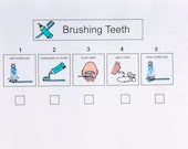 Brushing Teeth, Sequence Sheet
