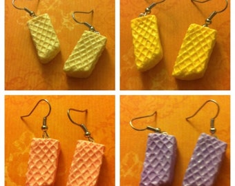 Wafer Earrings