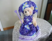 CANDLE ALTERNATIVE:  Refillable teddy bear air fresheners, any theme i.e. sewing, cleaning, cooking, gardening, angel, kid's room themes