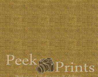 2ft.x2ft. Yellow Burlap Texture Vinyl Photography Backdrop