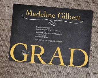 Custom Graduation Invitation – Digital