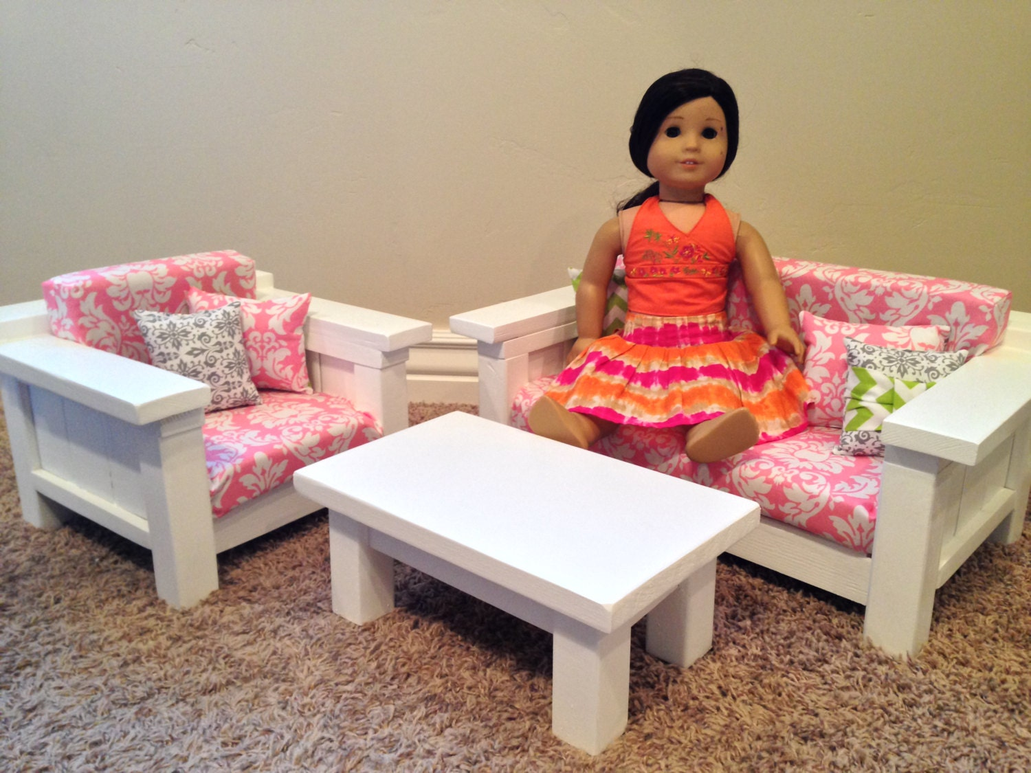 On Sale 18 Doll Furniture American Girl Doll Size 3 Pc