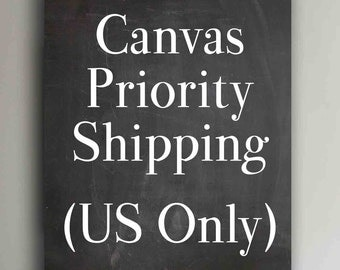 PRIORITY 2-Day Shipping UPGRADE for Canvas orders (US Only)