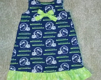 Seahawk Dress / Jumper  Sizes 4-6x