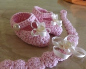 Shoes and headband for babies in various colors!