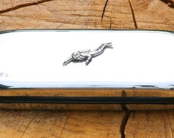 Scuba Diver Metal Pen Case & Ball Point Set Personalisable Gift