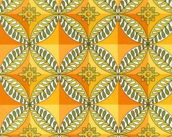Premium quilting cotton fabric by the yard, mosaic fabric in orange by Paula Prass for Michael Miller. Need more fabric yardage? Just ask