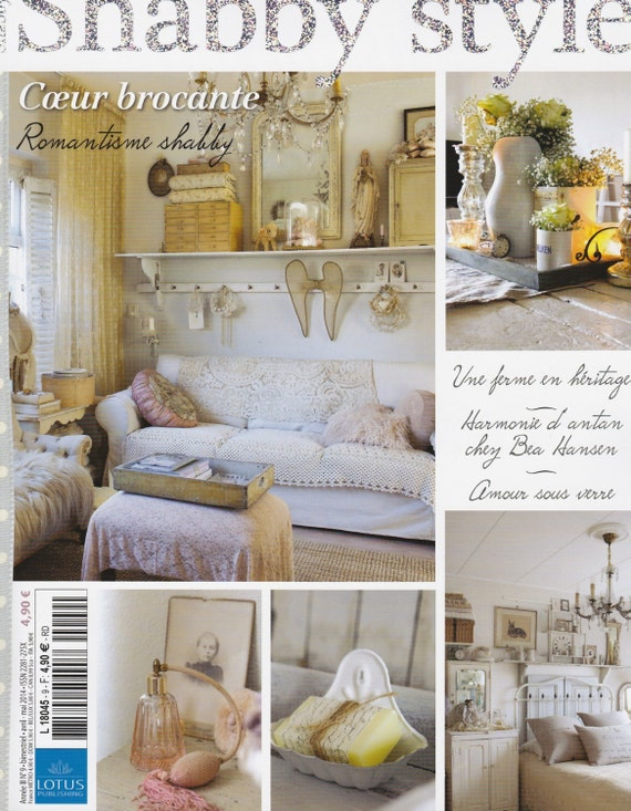 magazine maison et d co shabby style no 9 april mai