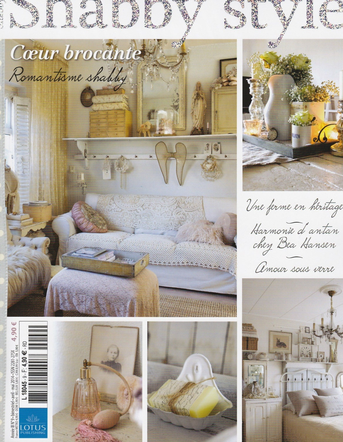 magazine maison et d co shabby style no 9 april mai. Black Bedroom Furniture Sets. Home Design Ideas