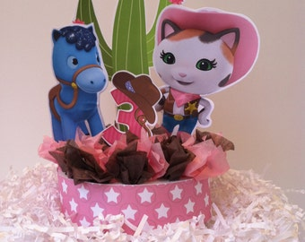 Sheriff Callie Cake Topper