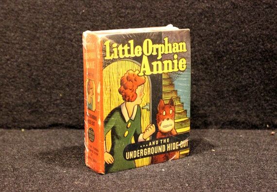 Little Orphan Annie Best Lines: Little Orphan Annie And The Underground Hide-Out Big Little