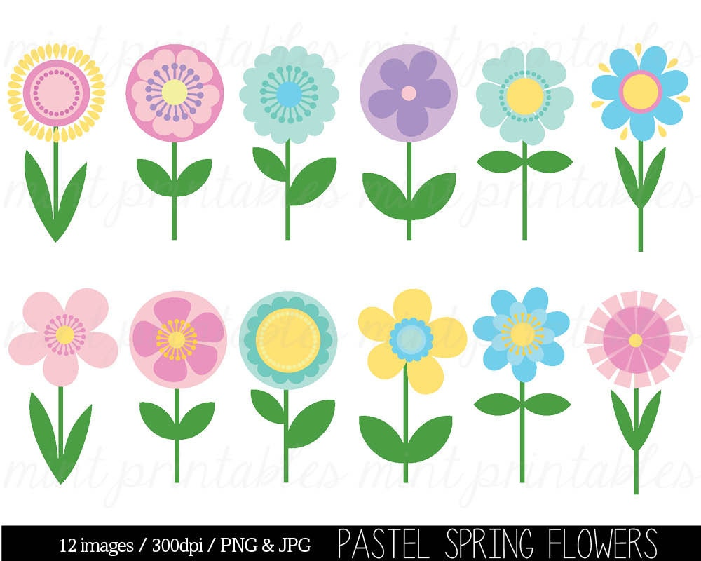 Clipart Flowers Spring