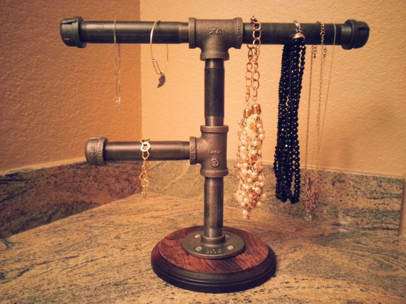 Industrial Jewelry Display Stand Modern by DesertandIron ... - photo#32