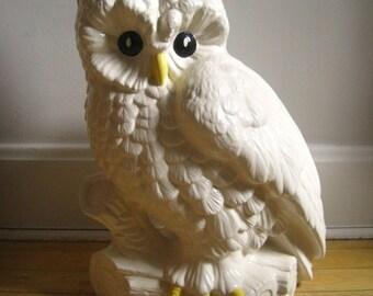 Popular Items For White Ceramic Owl On Etsy