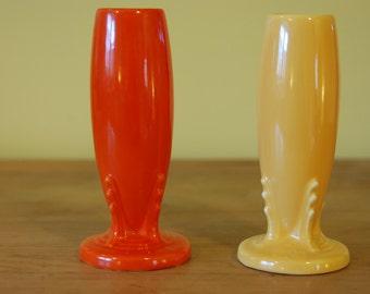 Vintage Fiesta pottery bud vase