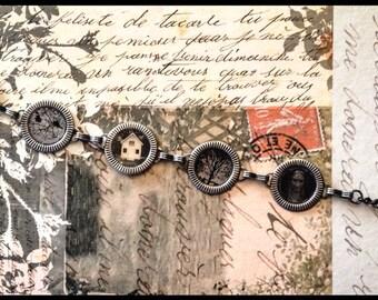 Adjustable original photography bracelet