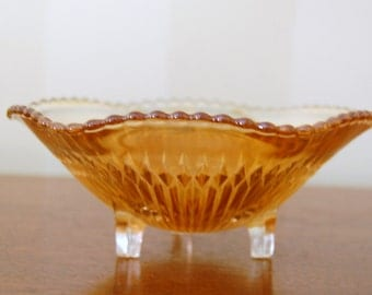 Footed Bowls from Jeannette Glass