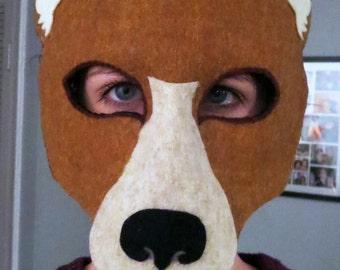 Felt Bear Mask
