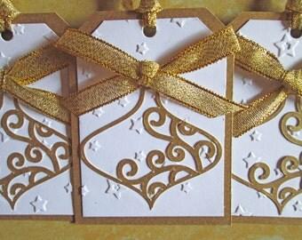 Bauble Christmas Gift Tags - Christmas Tags - Holiday Gift Tags - Christmas Gifts - Christmas Wrapping - Christmas Gift Wrap - Set of 6