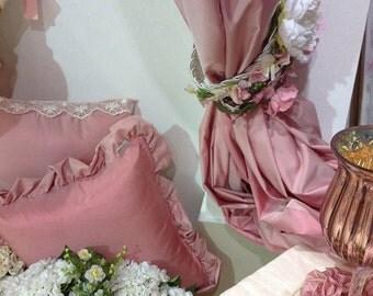 mis 200x300h pink taffeta curtain