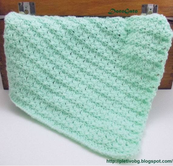 Crochet Baby Blanket pattern tutorial crochet by PatternsDG