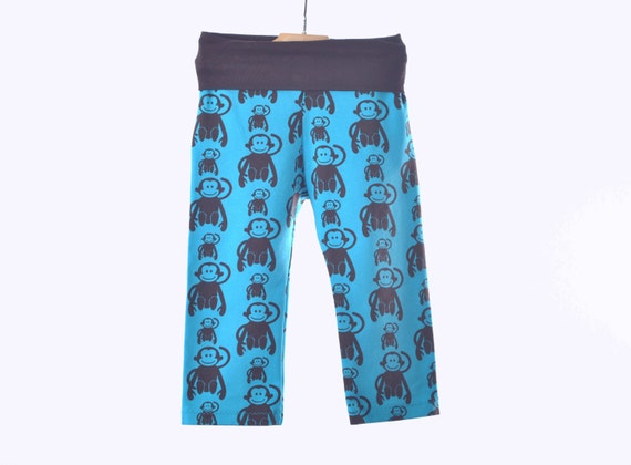 baby boy pants 12 18 M Happy Monkey Yoga Pants in by